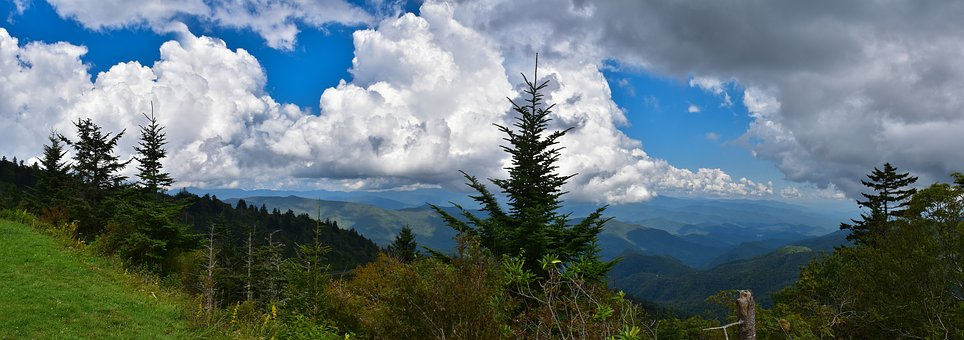 Landscape, Mountains, Nature, Sky, Clouds, Scenic