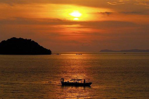 Ship, Water, Sea, Boat, Ocean, Summer, Landscape