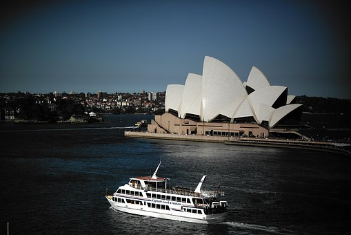 Sydney, Opera House, Pleasure Boat, Australia, Travel