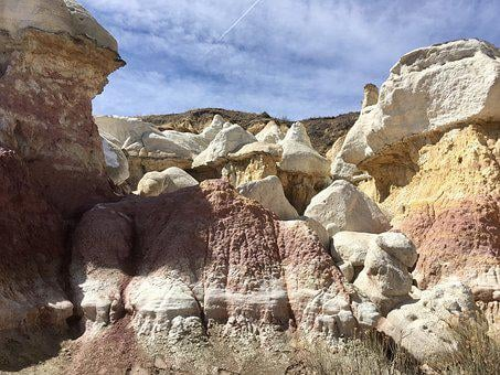 Paint Mines, Colorado, Calhan, Hiking, Nature, Scenic