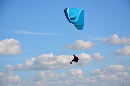 Paragliding, Paraglider, Paragliding Bi-place Wing