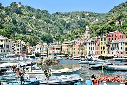 Port, Italy, Door