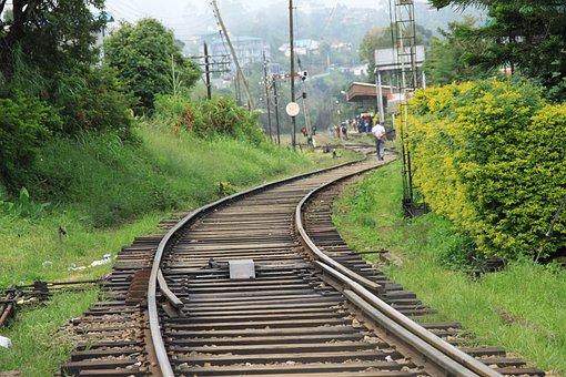 Railway, Station, Asia, Train, Travel, Transport
