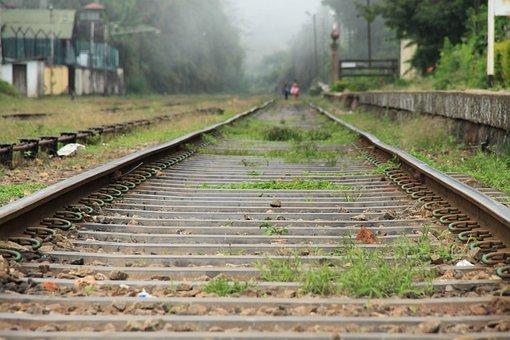 Railway, Railway Station, Asia, Sri Lanka, Ceylon
