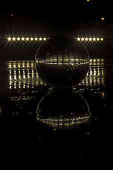 Ball, Reflection, Round, Glass, Brilliant, Transparent