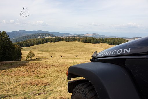 Jeep, Rubicon, Terrain, Wrangler, Off Road, Robust