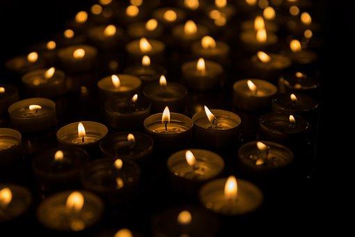 Candles, Prayer Devotion, Saints, All Saints, Church