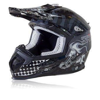 Spirit Hot Pistons Helmet, Isolated, Sport, Helmet