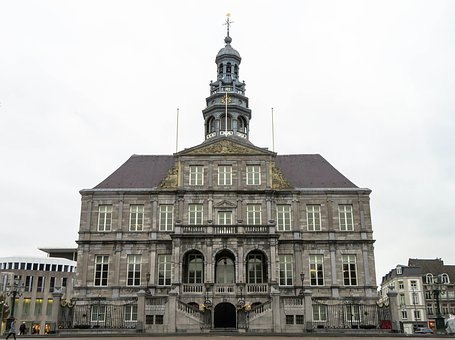 Maastricht, Town Hall, Church Tower, Bell-tower, Tower