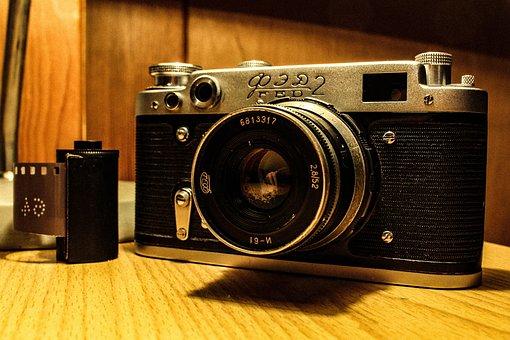 Analog Camera, Old Camera, Ussr, Russian Camera