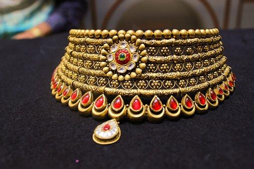 Jewellery, Chokker, Gold, Gold Jewellery, Rakesh, Vasu
