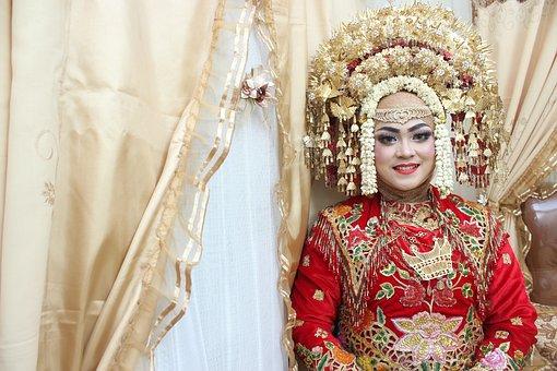 Wedding, Minang, Minangkabau, Married, Pagaruyung