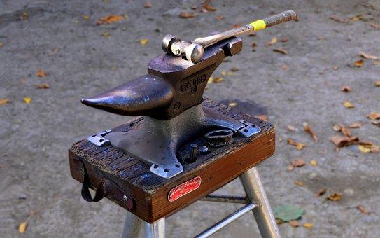 Anvil, Hammer, Business, Farrier, Crafts, Steel, Yk