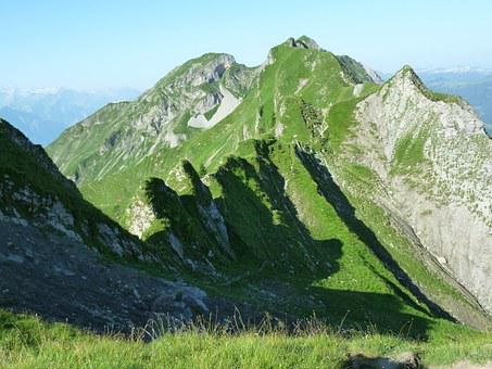 Brienz Red Horn Ridge, Bergtour, Alpine, Summer, Hiking