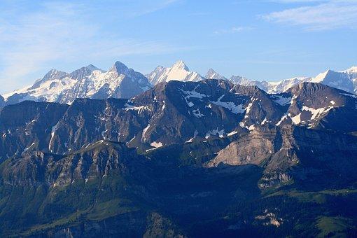 Bernese Oberland, Alps, Brienz, Alpine, Mountains