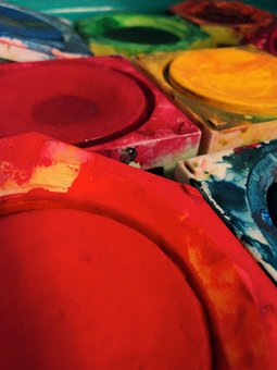 Color, Tusche Indian Ink, Paint Boxes, Watercolour, Art