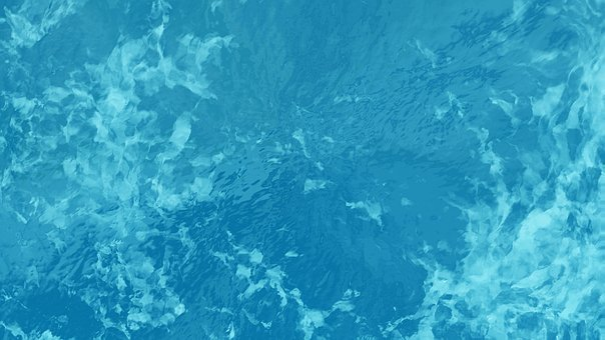 Sea Water, Blue Water, Under The Sea, Watermark, Blue