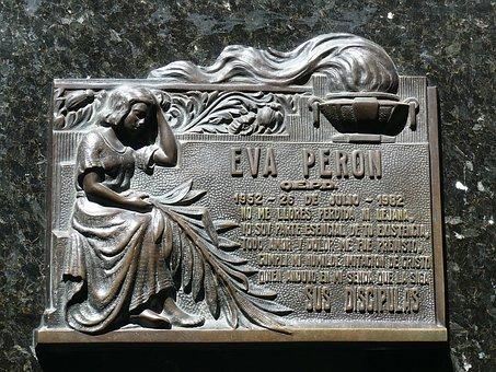 The Tomb Of Eva Perón, Eva Perón, Cemetery