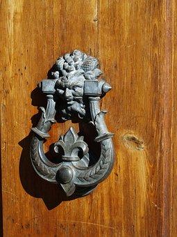 Door, Latch, Entrance, Handle, Wood, Close, Wooden