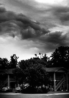 Hurricane, Storm, Clouds, Sky, Weather, Disaster