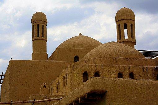 Fortress, Kazakhstan, Or, Nomad, Castle, Desert, Sand