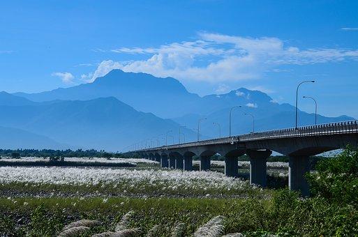 Mountain, High Beauty Bridge, Mns, Blue Day