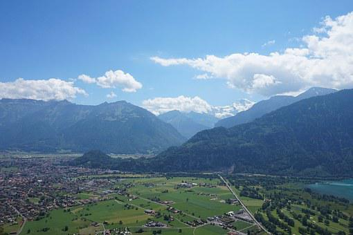Interlaken, Switzerland, Alpine, Mountains, Virgin