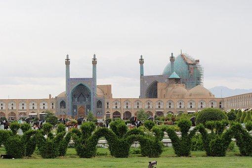 Isfahan, Iran, Mosque, Landmark, Attraction, Travel