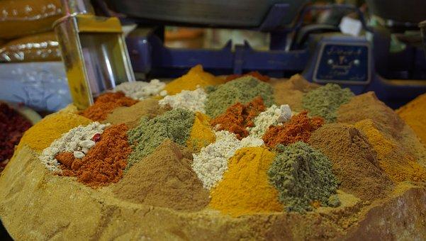 Spices, Bazaar, Isfahan