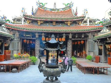 Matsu, Temple, Lukang, Taiwan, Religious, Chinese