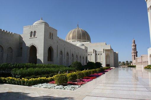Oman, Grroße Mosque, Sultan Kaboos, Mosque, Muscat