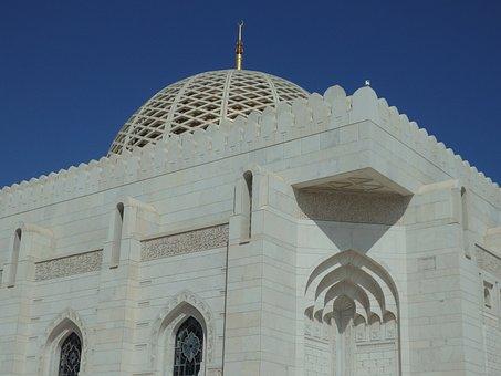 Oman, Muscat, Sultan Mosque
