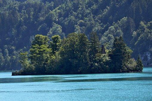 Switzerland, Brienz, Lake Of Brienz, Landscape, Nature