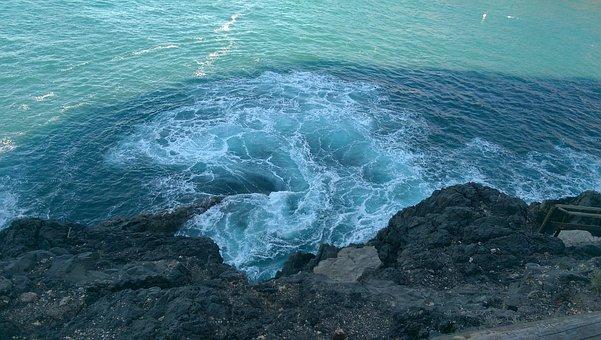 Sea, Cliff, Water, Rock, Coast, Stone, Ocean