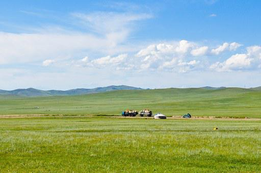 Countryside, Steppes, Mongolia, Nature, Rural