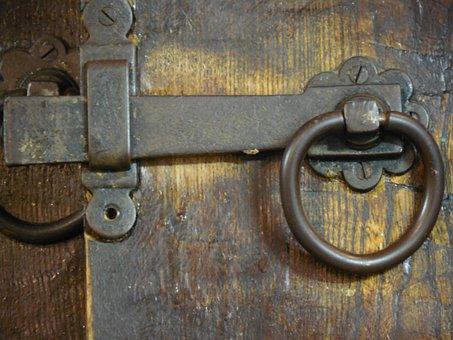 Metal, Latch, Lock, Door, Security, Protection, Close