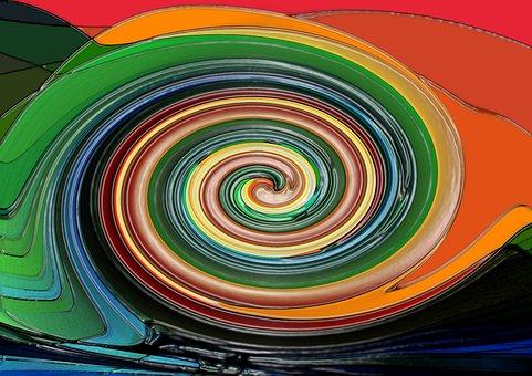 Sog, Color, Colorful, Strudel