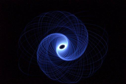 Light, Vortex, Motion, Spiral, Symmetry, Glow, Whirl