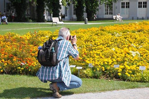 Photographer, Under Pikture, Garden Show, Summer