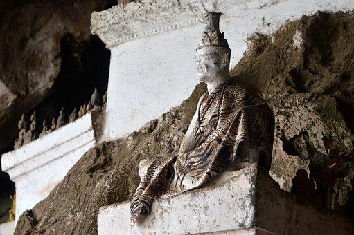 Vietnam, Thousand Buddha Caves, Luang Prabang