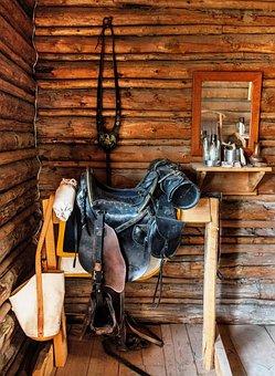 Saddle, Ride, Western, Equestrian, Usa