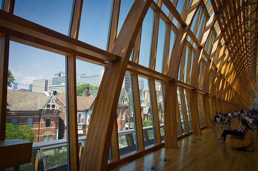 Art Gallery Of Ontario, Toronto, Museum, Architecture