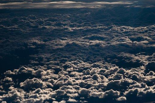 Sky, Cloud, Flying, Blue