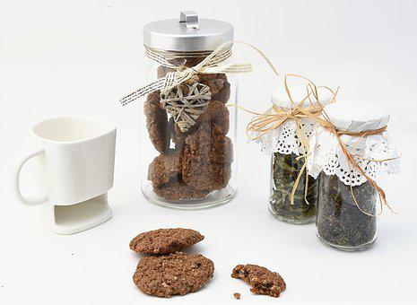 Cookie, Cookies, Jar, Cookie Jar, Cup