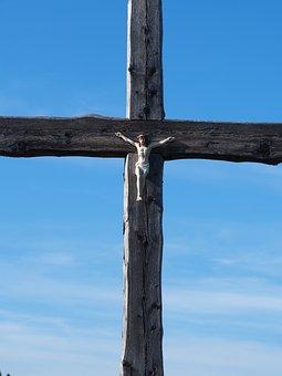 Cross, Sky, God