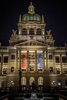 Masaryk, Czechoslovakia, Tricolor, Prague, Building