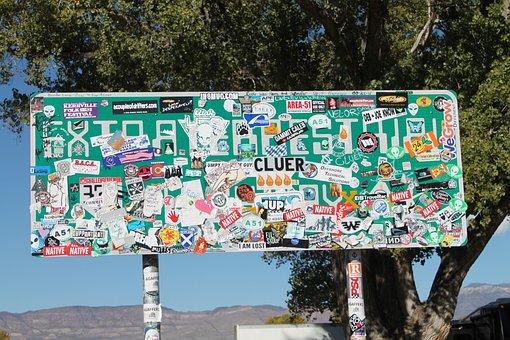 Sticker, Extraterrestrial Highway, Nevada, Area 51, Ufo