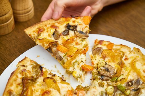 Pizza, Food, Slice, Delicious, Restaurant, Kitchen