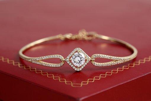 Gold Jewelry, Bracelet Jewelry, Gold Bracelet, Diamond