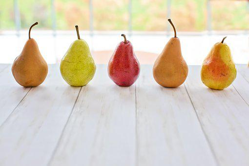 Pears, Fruit, Food, Healthy, Fresh, Vitamins, Nutrition